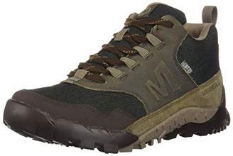 675300c1e9bb4 Merrell Men s Annex Recruit Mid Wp Low Rise Hiking Boots Brown Canteen