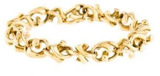 Georg Jensen 18K Link Bracelet