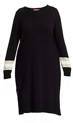 Marina Rinaldi Marina Rinaldi, Plus Size Marina Rinaldi, Plus Size Women's Marina Sport Gabri Back-Pleated Stretch Knit Dress