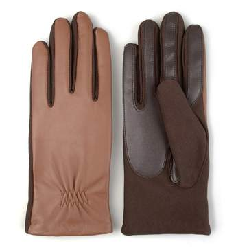 Journee Collection Women's Suede Leather Tech Gloves
