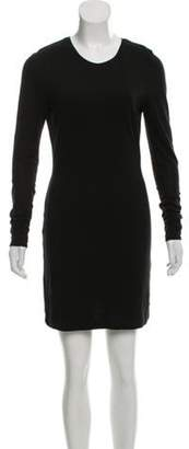 Kimberly Ovitz Long Sleeve Mini Dress Black Long Sleeve Mini Dress