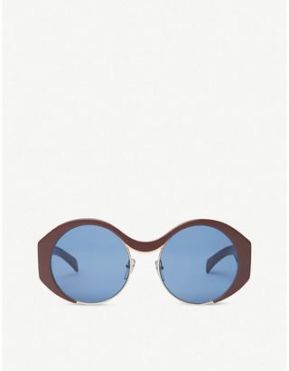 Marni Me628s round tinted sunglasses