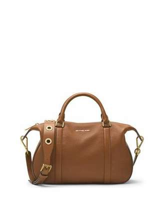 MICHAEL Michael Kors Raven Large Leather Satchel Bag $368 thestylecure.com
