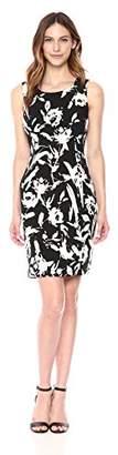 Kasper Women's Floral Crepe Sheath Dress