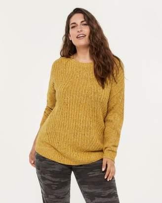 Penningtons Sweater with Diagonal Detail - d/C JEANS