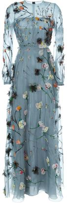 Valentino floral applique evening dress $32,900 thestylecure.com