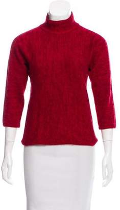 Salvatore Ferragamo Cashmere & Silk Knit Sweater