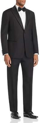 Emporio Armani Black Regular Fit Peak-Lapel Tuxedo