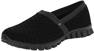 Skechers Sport Women's EZ Flex Tweetheart Slip-On Sneaker $65 thestylecure.com