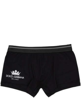 Dolce & Gabbana Black Regular Boxers
