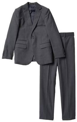 Isaac Mizrahi 2-Piece Solid Textured Suit (Little Boys)