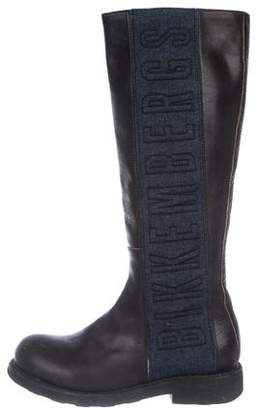 Bikkembergs Knee-High Logo Boots