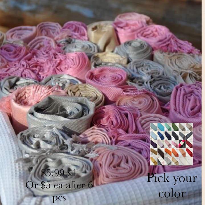 Etsy Pashmina scarf - handmade - Pashmina for Bridesmaids - wedding shawl - pashmina as a favor