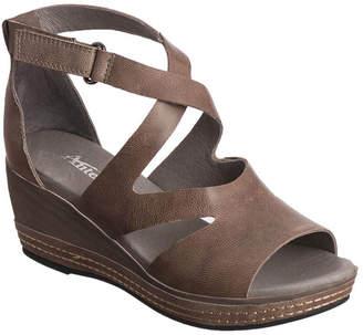 Antelope 439 Leather Wedge Sandal