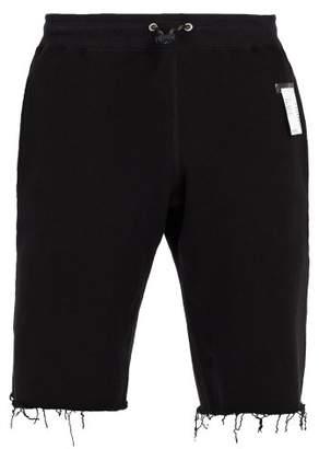 Satisfy Jogger Cotton Fleece Shorts - Mens - Black