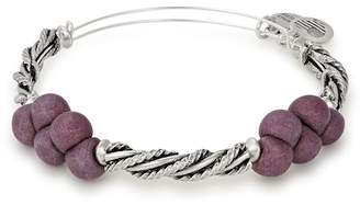 Alex and Ani Spirit Spiral Plum Expandable Bangle
