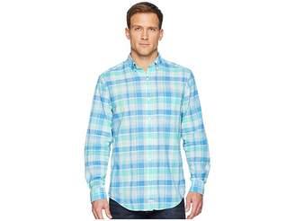 Vineyard Vines Homer Pond Plaid Classic Murray Shirt Men's Clothing