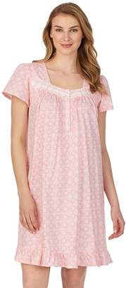 Women's Aria Short Sleeve Knit Gown