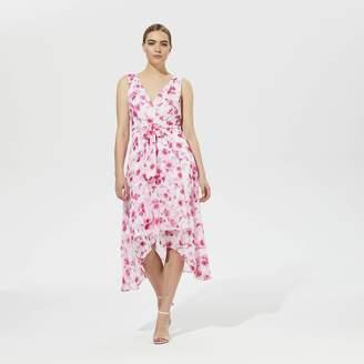 0adb6efaade4 Karl Lagerfeld Paris Hanky Hem Printed Dress