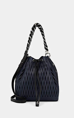 Sonia Rykiel Women's Le Baltard Leather Bucket Bag - Navy