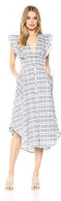 Adelyn Rae Women's Keenan Button-up Dress
