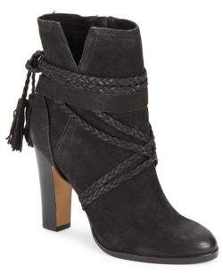 Cyndia Leather Ankle Boots $189 thestylecure.com