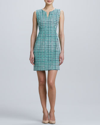 Kate Spade Samantha Sleeveless Check Dress