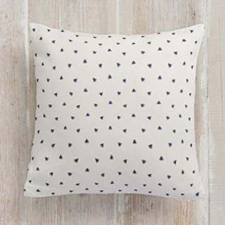 Stripes & Triangles Square Pillow