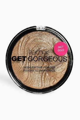 boohoo Technic Get Gorgeous 24 Ct Gold Highlighter