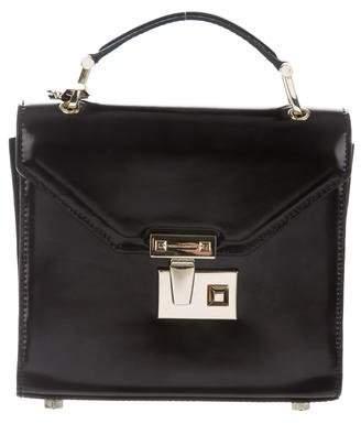 Rebecca Minkoff Leather Frame Satchel