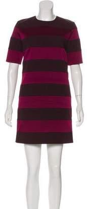 Victoria Beckham Victoria Striped Mini Dress