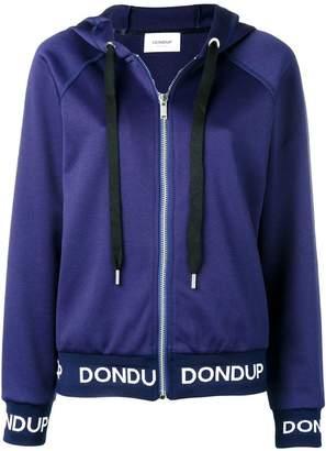 Dondup logo hooded jacket