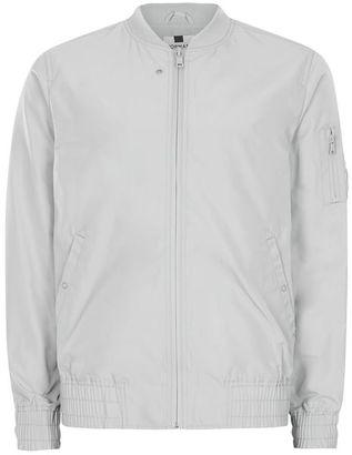 Light Mint Lightweight Bomber Jacket $70 thestylecure.com