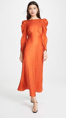 Saloni Alena Midi Dress