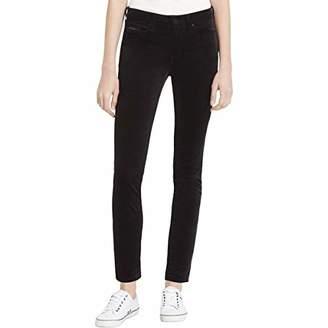 Calvin Klein Jeans Women's Velvet High Rise Ankle Skinny Pant