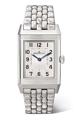 Jaeger-LeCoultre Reverso Classic Thin 24.4mm Medium Stainless Steel Watch - Silver