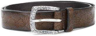 Orciani perforated western belt