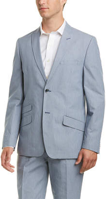 Ben Sherman 2Pc Suit With Flat Front Pant