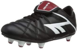 Hi-Tec League Pro Si Lace Junior, Unisex Kids Football Competition Shoes,(34 EU)