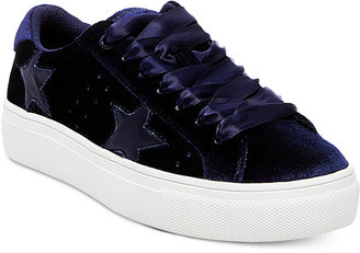 Madden Girl Starstruck Lace-Up Sneakers $49 thestylecure.com