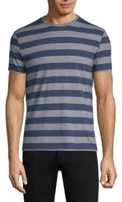 Isaia Striped Cotton T-Shirt