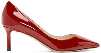 Jimmy Choo Red Patent Romy 60 Heels