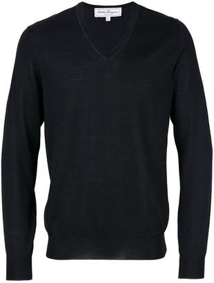 Salvatore Ferragamo v-neck sweater