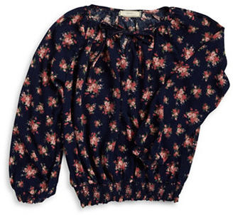 Soprano Girls 7-16 Floral Peasant Top $34 thestylecure.com
