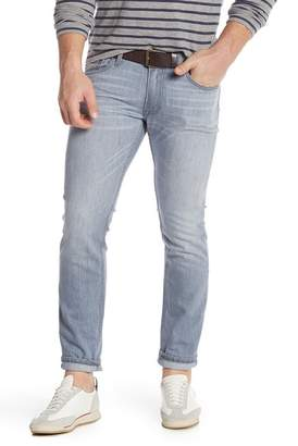 Gilded Age Medium Gray 5 Pocket Stretch Jeans