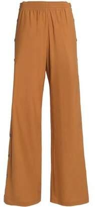 Maison Margiela Cotton-Blend Cady Wide-Leg Pants