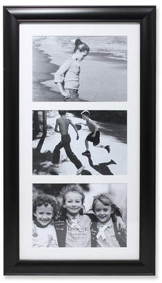 """Lawrence Frames Black Collage Frame - Three Opening Gallery Frame - 5"""" x 7"""""""
