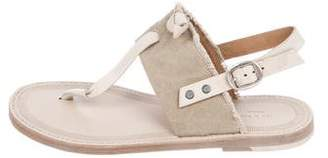 Rag & Bone Ankle-Strap Thong Sandals