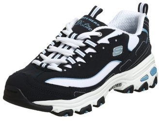 Skechers Sport Women's D'Lites Original Non-Memory Foam Lace-Up Sneaker $59.95 thestylecure.com