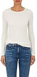 Barneys New York Women's Fine-Gauge Knit Silk-Cashmere Sweater - Ivory